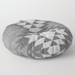 GREY DIAMOND LINEN Floor Pillow