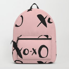 Kisses XOXO Millennial Pink Backpack