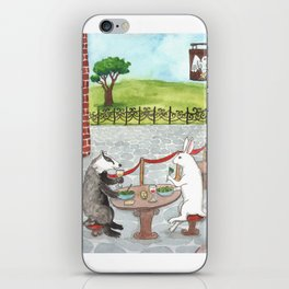 Owl and Merlot iPhone Skin