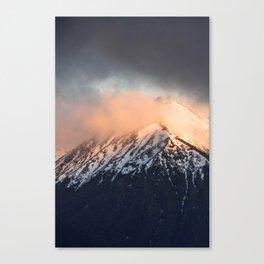 Steamy Mountain Canvas Print