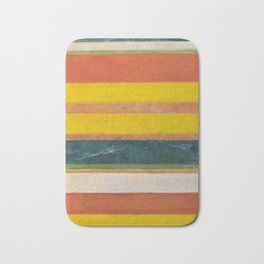 Stripe Painting #6 (The Beach) Bath Mat