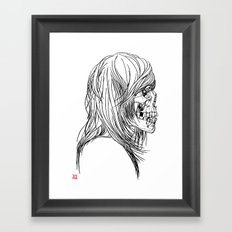 A Song About Rock N' Roll/A Song About Death Framed Art Print