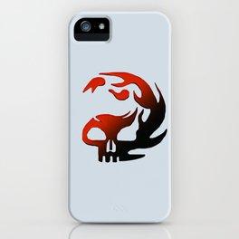 Fire Skull iPhone Case