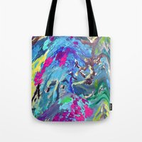 fairy Tote Bags featuring Fairy by Lizzshop