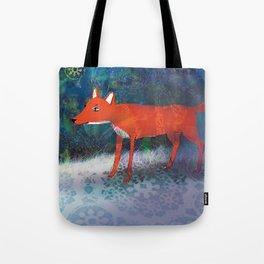 Fox friend Tote Bag