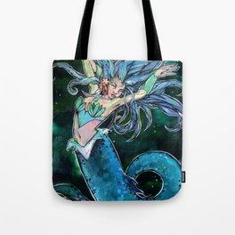 Mermaid Princess Tote Bag