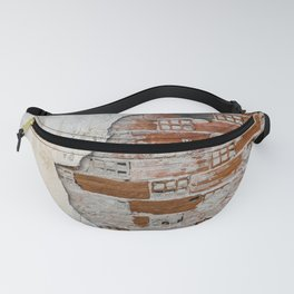 Cracked Facade Fanny Pack