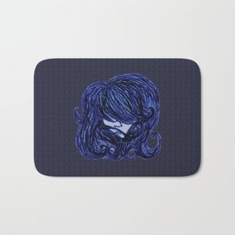 Big Blue Bath Mat