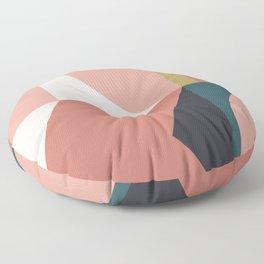 Maximalist Geometric 02 Floor Pillow