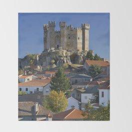 Castelo de Penedono, Portugal Throw Blanket