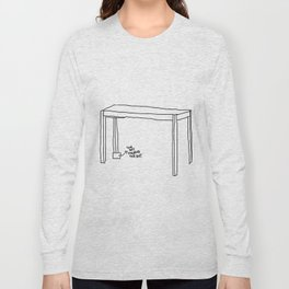 crooked table Long Sleeve T-shirt