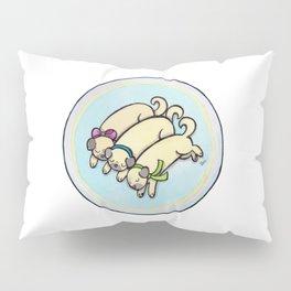 Snug as a Pug on a Rug Pillow Sham