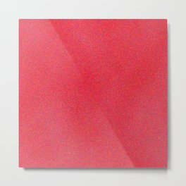 Deep Pink Sparkle Metal Print
