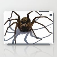 spider iPad Cases featuring SPIDER by aztosaha