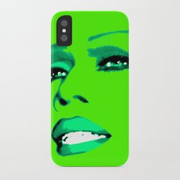 Sassy Ross LIME iPhone Case