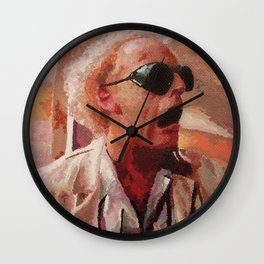 Back to the Future: Doc Brown Wall Clock