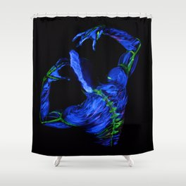 Lightening Shower Curtain