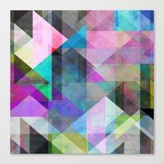 Color Blocking 3 Canvas Print