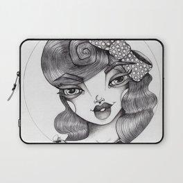 JennyMannoArt Graphite Illustration/Wilma Laptop Sleeve