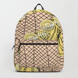 Fishnet Gold Backpack