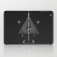 deathly hallows iPad Cases featuring Deathly Hallows by Mírë