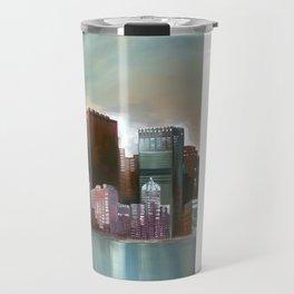 Chicago At Noon Travel Mug