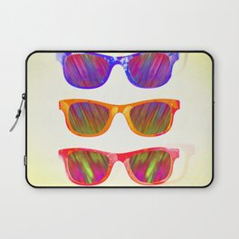 Sunglasses In Paradise Laptop Sleeve