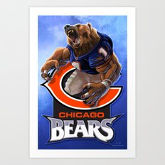 Chicago WereBear Art Print
