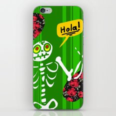Hello Skeleton iPhone & iPod Skin