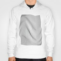 minimal Hoodies featuring Minimal Curves by Leandro Pita