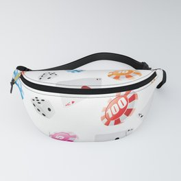#casino #games #accessories #pattern Fanny Pack