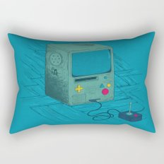 Old Video Game Console Rectangular Pillow