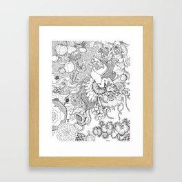 Flower Dreams Framed Art Print