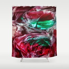 CosmicFog Shower Curtain