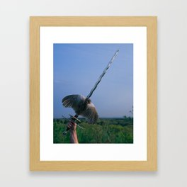 Ace of Swords Framed Art Print