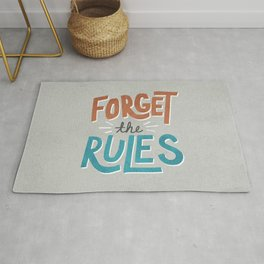 Forget the Rules Rug