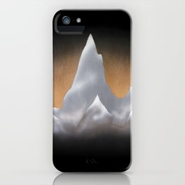 Snowcapped Mountains iPhone Case