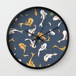 Swimming 2 Wall Clock