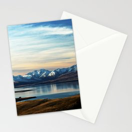 If Nobody Speaks // Landscape Mountains Photography Stationery Cards