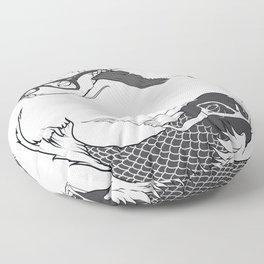 Hipster Koi Floor Pillow