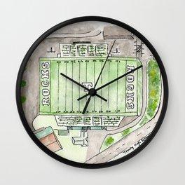 Trinity High School Football Field, Louisville, KY #gift Wall Clock