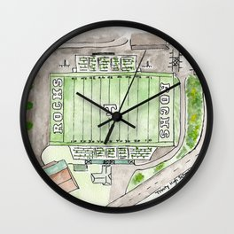 Trinity High School Football Field, Louisville, KY #gift Wall Clock