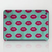 lips iPad Cases featuring LIPS by AMULET