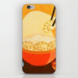 Dumpling Mania iPhone Skin