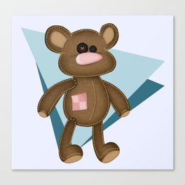 scary teddies and nice sprites. Canvas Print