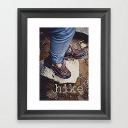 Hike Framed Art Print