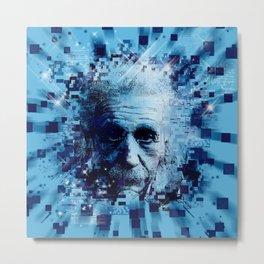 Albert Einstein 2 Metal Print