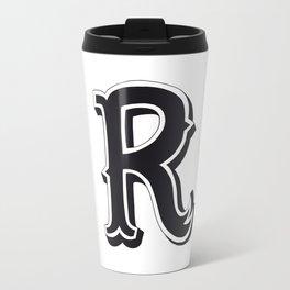 The Alphabetical Stuff - R Travel Mug
