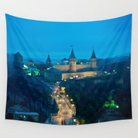 ukraine Wall Tapestries featuring Kamianets-Podilskyi Castle (Ukraine) by Limitless Design