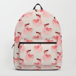 Betta splendens pattern Backpack